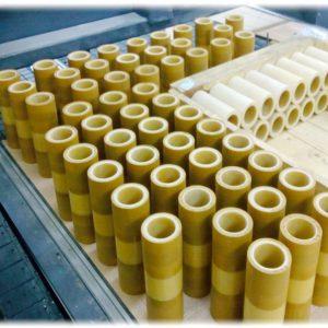 Втулки трубки цилиндры электротехнические стеклоэпоксифенольные ГОСТ 12496-88