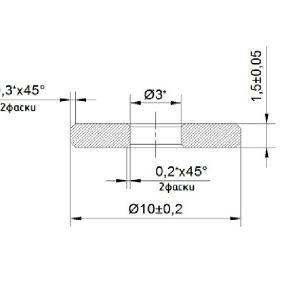 Нераспыляемый титан-ванадиевый газопоглотитель КНТВ-10В