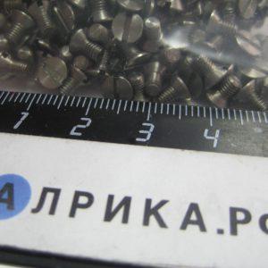 Винт М3-6gх5.21.12х18н10т ГОСТ 17475-80