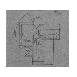 Гайка пистон с плоской головкой 2 Ан Окс ОСТ 1 11195-73